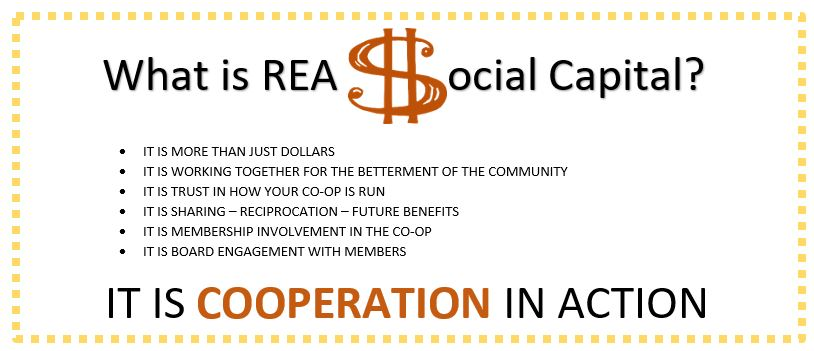 What is REA Social Capital?